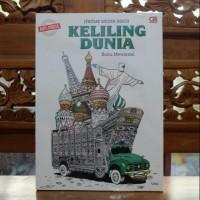 Buku Mewarnai Dewasa Coloring Book For Adult Keliling Dunia