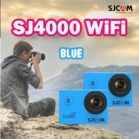 SJCAM Original SJ4000 WiFi BLUE Action Camera mini VLOG youtuber