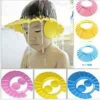 Topi Mandi / Topi Keramas Anak Bayi Pelindung Mata Kids Shower Cap