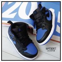 AIR JORDAN 1 Mid Royal 2020 Toddler Kids Sneaker Original sepatu anak