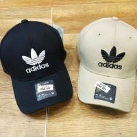 Topi baseball Adidas Embroidered logofull 2 warna unisex import