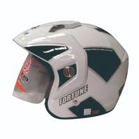 Helm GP Delta Fortune White Black