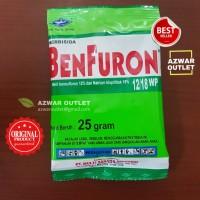 Herbisida benfuron 12/18WP - pembasmi gulma rumput pada padi original