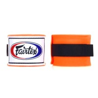 Muaythai Boxing Cotton Pro Handwraps FAIRTEX - Orange