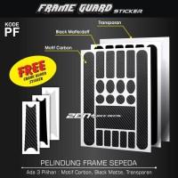 pelindung frame sepeda frame guard universal