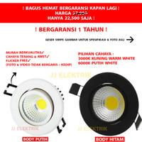 Lampu LED Downlight 5W 5 W 5 Watt Garansi 1 Tahun - WHTE-PUTIH