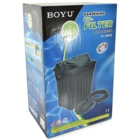 BOYU YT-9000 Gardening Bio-Filter SET FILTER Kolam Ikan KOI UV lights
