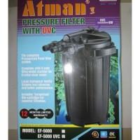 ATMAN EF-5000UV Pressure Filter with UV lights Filter KOI