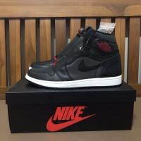 Air Jordan 1 High Black Satin