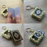 Alquran saku / Gantungan Kunci Alquran / Oleh oleh Souvenir Haji