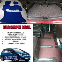 Karpet Mobil Mie Bihun 1 Warna ALL NEW JAZZ 2020 Non Bagasi