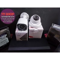 Paket 2 Camera CCTV Infinity 1080P Full Original