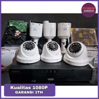Paket 6 Camera CCTV Infinity 1080P Full Original