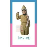 Baju pejuang pahlawan baju karnaval anak baju bung tomo
