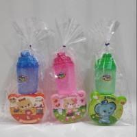 Paket tempat makan botol souvenir ultah bingkisan anak