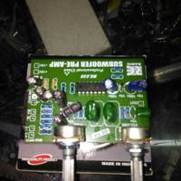 kit filter subwoofer/pream subwoofer boombaster
