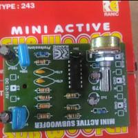 kit mini filter subwoofer+ frekwensi
