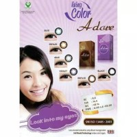 softlens ADORE by LIVING COLOR/soflen warna adore normal-minus