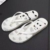 Sandal sendal wanita jepit flat teplek flip flop jelly sgc 14