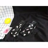 Sandal sendal wanita jepit flip flop rabbit jelly sgc 15