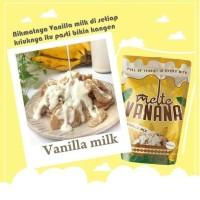 Keripik pisang lampung melte vanana rasa vanila milk 100gr