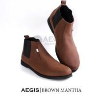 Baru CRAZY DEALS Aegis - Mantha Exclusive Sepatu Boots Casual Pria