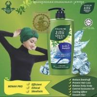Green Tea Shampoo GTS FM - 6in1 Halal 650 ML
