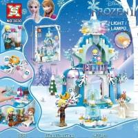 3030 Lego Disney Frozen Princess Elsa Sparkling Ice Castle Light