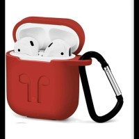 Airpods Case Airpod Pouch Premium Quality Gratis Tali Strap Dan Hanger