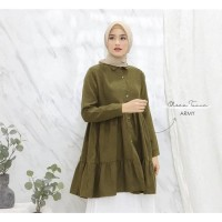 Fashion Muslim TUNIK OLSEA MOSCREPE PREMIUM Original