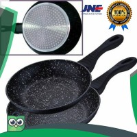 terlaris Cyprus Fry Pan Ceramic Induksi 24cm 24 cm Marble Pan