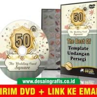 DVD Desain Undangan Kotak Persegi Update 2017