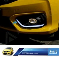 JSL LED DRL All New Brio 2018 Fog Lamp Cover DRL with Sein