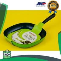 terlaris Eco Safe Nonstick Ceramic Grill Pan 28x28 Cm Shuma elegan