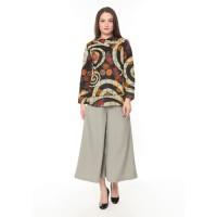 Terbaru Agrapana Blouse Batik Print Sujiwati Cream