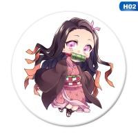 Terlaris Pin Bros Bentuk Anime Demon Slayer