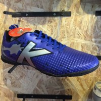 Kicosport sepatu futsal KELME star evo royal blue silver original new