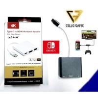 Docking Tv Nintendo Switch Dock Hdmi Usb Type C 145000 224800 200 0