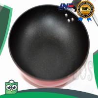 terlaris Panci - Wajan Ceramic Marble HAPPY CALL Deep pan 32Cm