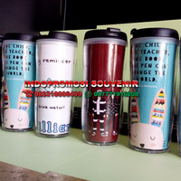 Tumbler souvenir insert paper g400 - botol minum promosi