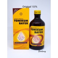 Tonikum Bayer 330ML - Multivitamin dan Zat Besi Rasa Tutti Frutti