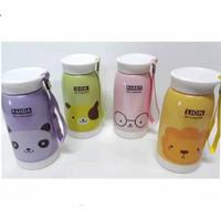 BRG-17000587 Thermos Bottle b34-1 Botol Termos Karakter Animal 550ml