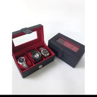 Exlusive Watch Box Kotak Tempat Jam Tangan Mewah Kualitas Export
