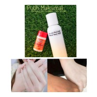 Pemutih Badan / Body Whitening Bibit Cair Infus Magic Lotion Goat Milk