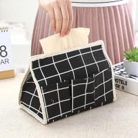 Kantong Tisu - Tissue Organizer Motif Kotak A831