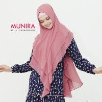 Jilbab munira MH 25 Original - Khimar instan ceruty babydol pet antem