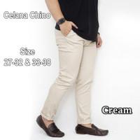 Celana Chinos Pria Chino Pants Celana Panjang Slim Fit Kerja - 32