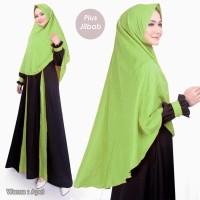 Gamis Syari SAFA DRESS PLUS JILBAB Pakaian Wanita Set Terbaru