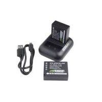 Wasabi NPW126 Power Battery and Dual Charger for Fujifilm Paket Batera