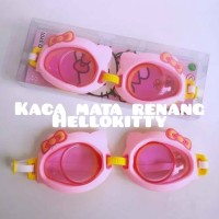 Kacamata Renang Anak Swim Goggles Hello Kitty Cat Murah